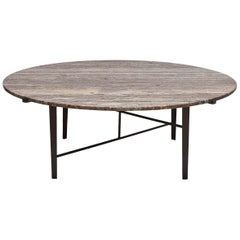 Indoor/Outdoor Montrose Coffee Table, Round by Lawson-Fenning