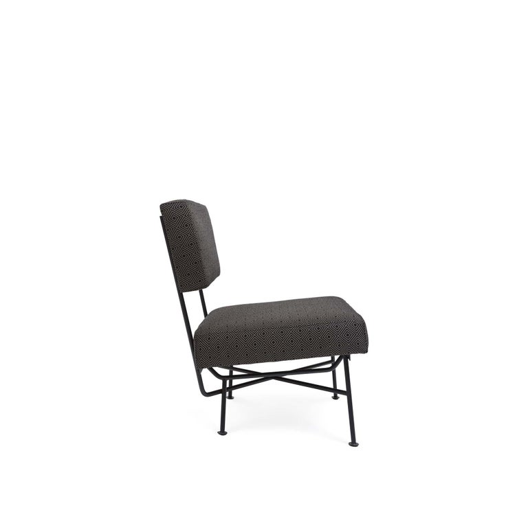 Mid-Century Modern Indoor/Outdoor Montrose Lounge Chair by Lawson-Fenning For Sale