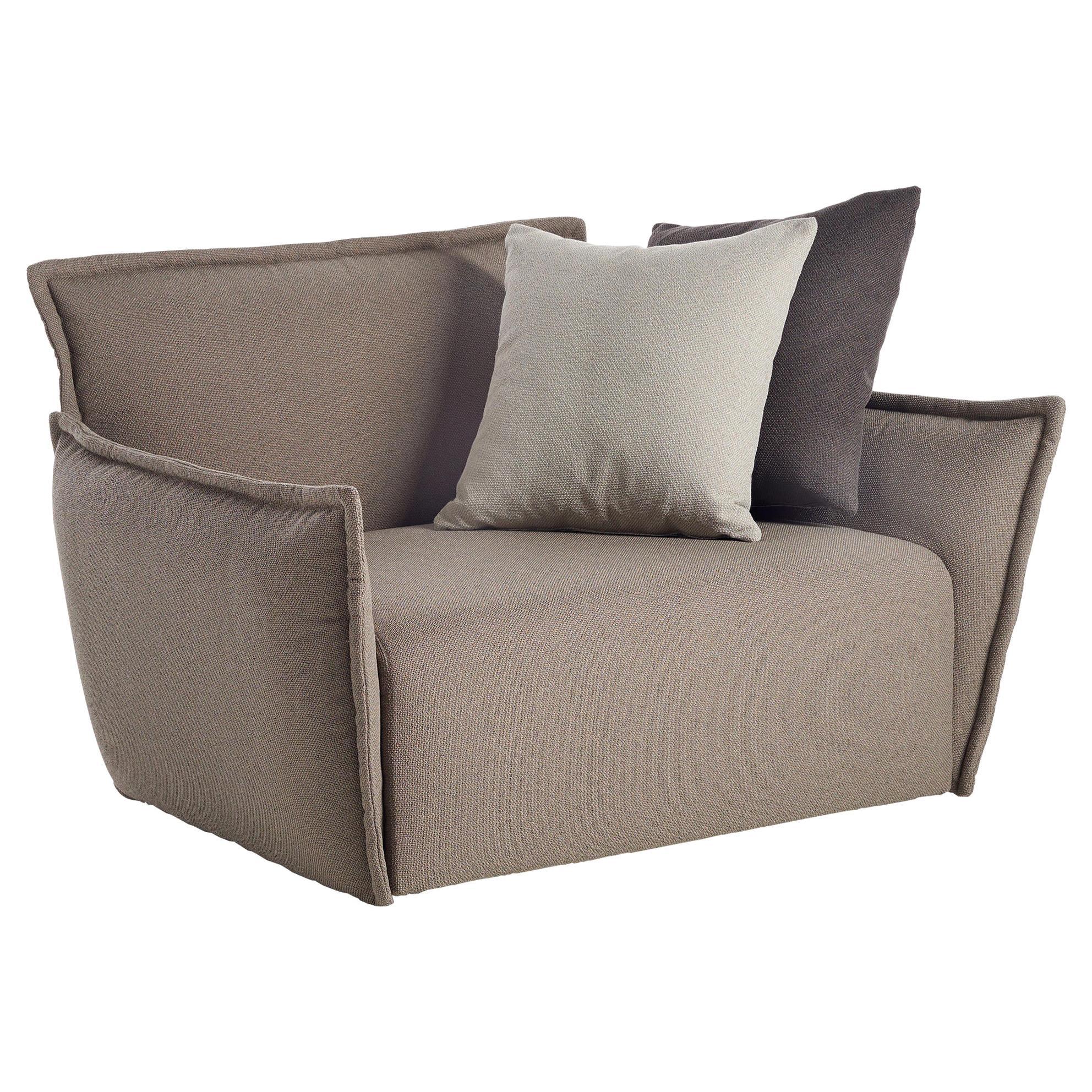 Indoor / Outdoor Potocco Purple Lounge Armchair