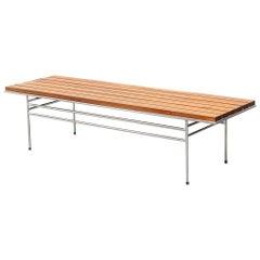 Indoor/Outdoor Slat Coffee Table or Bench