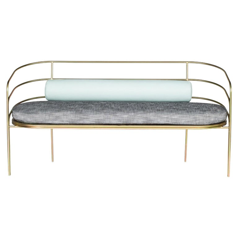 Remarkable Indoor Outdoor Steel Framed Sofa In Modern Regency Style By Laun Los Angeles Ncnpc Chair Design For Home Ncnpcorg