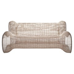 Indoor Pigalle Loveseat by Kenneth Cobonpue