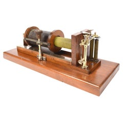 Induction Coil or Sled Antique Scientific Instrument by Du Bois Reymond 1870