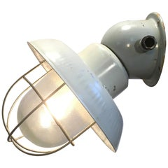 Industrial Aluminium Wall Lamp, 1960s