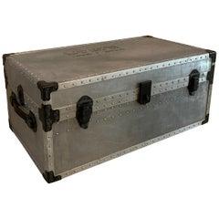 Industrial Aluminum Military Trunk