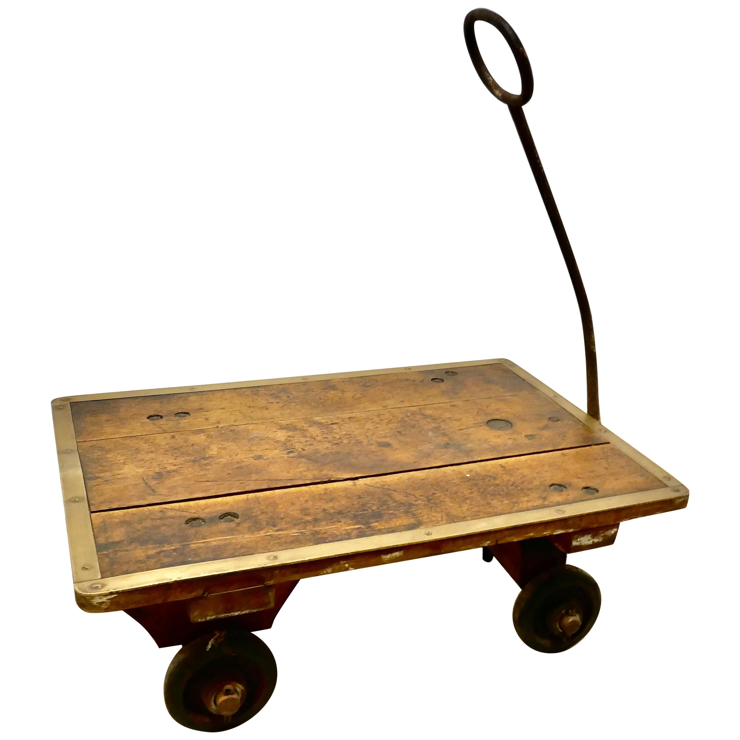 Industrial Bullion and Coin, Bank Cart Trolley by Slingsby