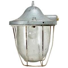 Industrial Bunker Lamp from Polam Gdansk, 1960s