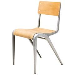 Industrial Cast Aluminium Chair by James Leonard