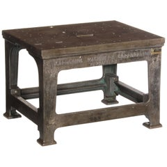 Industrial Cast Iron Table
