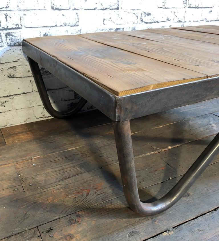 Magnificent Industrial Coffee Table 1960S Creativecarmelina Interior Chair Design Creativecarmelinacom