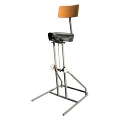 Industrial Design, Wrights Bicycle Seat, Stool, Studio Chair