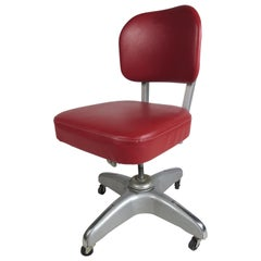 Industrial Desk Chair by Cole Steel Equipment Company