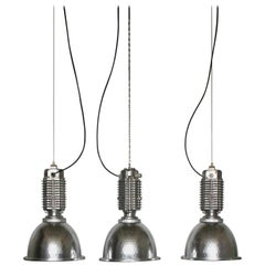Industrial Factory Lamp by Charles Keller for Zumtobel, 1990s