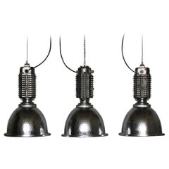 Industrial Factory Lamp / Lamps by Charles Keller for Zumtobel, 1980s