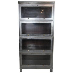 Industrial Finish Barrister Bookcase