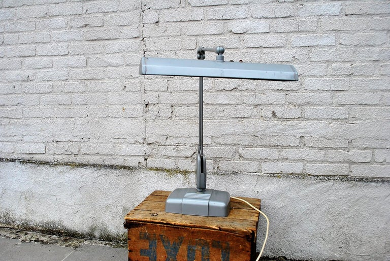 Metal Industrial Floating Lamp from Dazor, 1950 For Sale