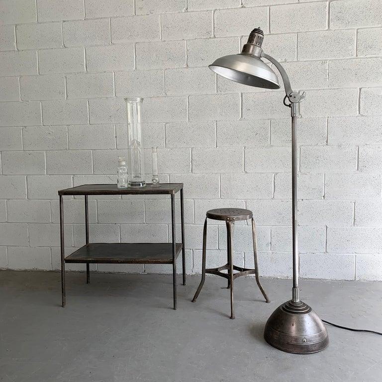 American Industrial General Electric Medical Sunlamp Floor Lamp For Sale