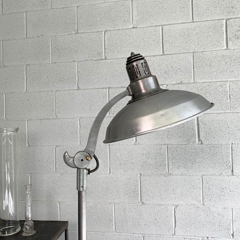 Steel Industrial General Electric Medical Sunlamp Floor Lamp For Sale