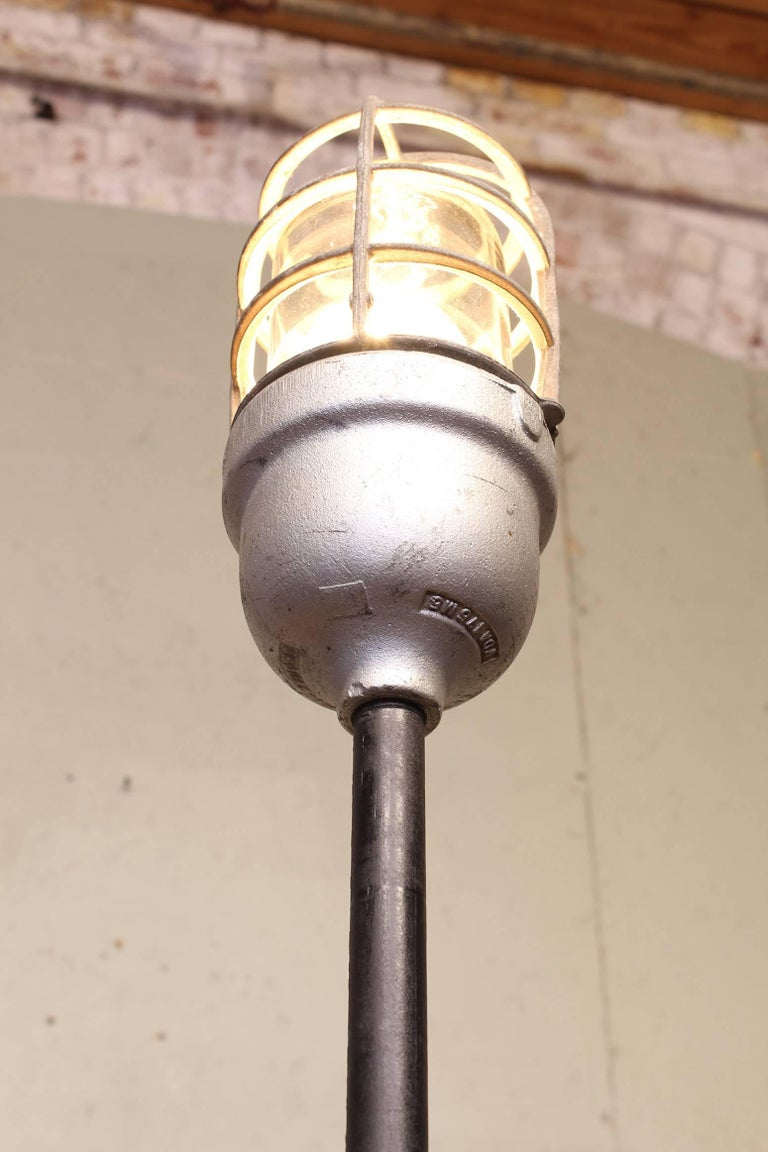 Industrial Ghost Stage Light Or Floor Lamp At 1stdibs