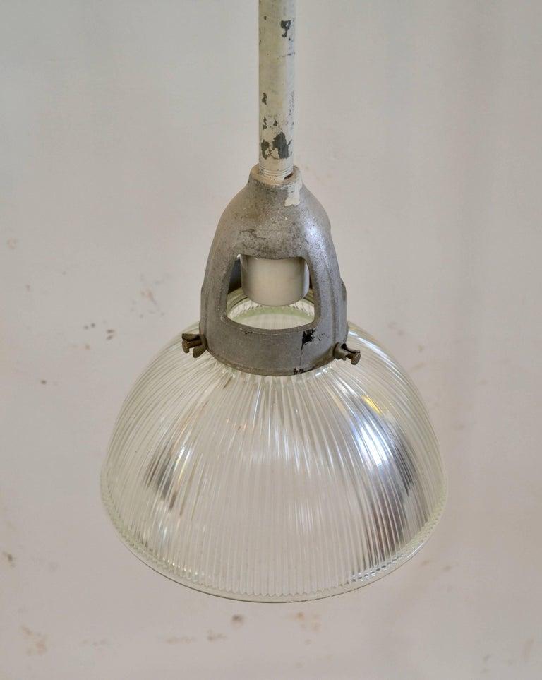 Industrial Holophane Pendant Lights For Sale 1