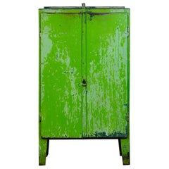 Industrial Iron Cabinet, 1960s