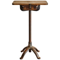 Industrial Iron Stand
