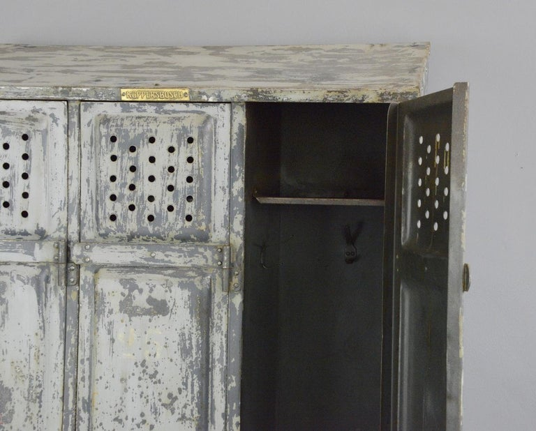 Industrial Lockers by Kuppersbusch, circa 1920s 4