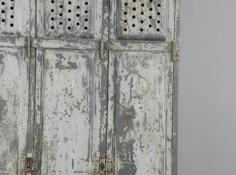 Early 20th Century Industrial Lockers by Kuppersbusch, circa 1920s