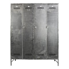 Industrial Lockers by Otto Bruckner, circa 1930s