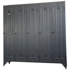 Industrial Lockers by Otto Kind, circa 1920s