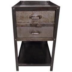 Industrial Metal Side Cabinet