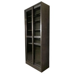Industrial Metal Sliding Glass Door Cabinet