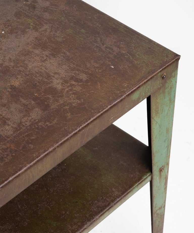 French Industrial Metal Stand For Sale