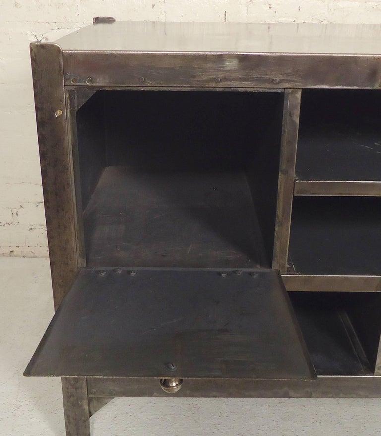 Industrial Metal Workstation For Sale 1