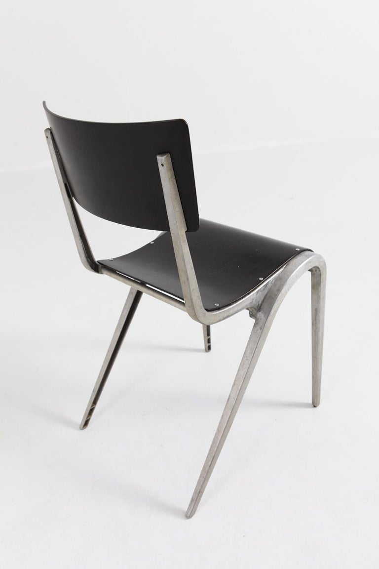 Industrial Mid-Century Modern Chairs by James Leonard for Esavian For Sale 5