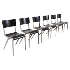 Industrial Mid-Century Modern Chairs by James Leonard for Esavian