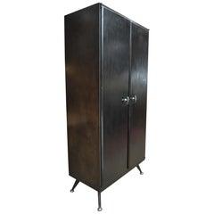 Industrial Midcentury Factory 2 Doors Cupboard Cabinet