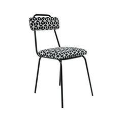 Industrial Mid-Century Modern Metal Chair