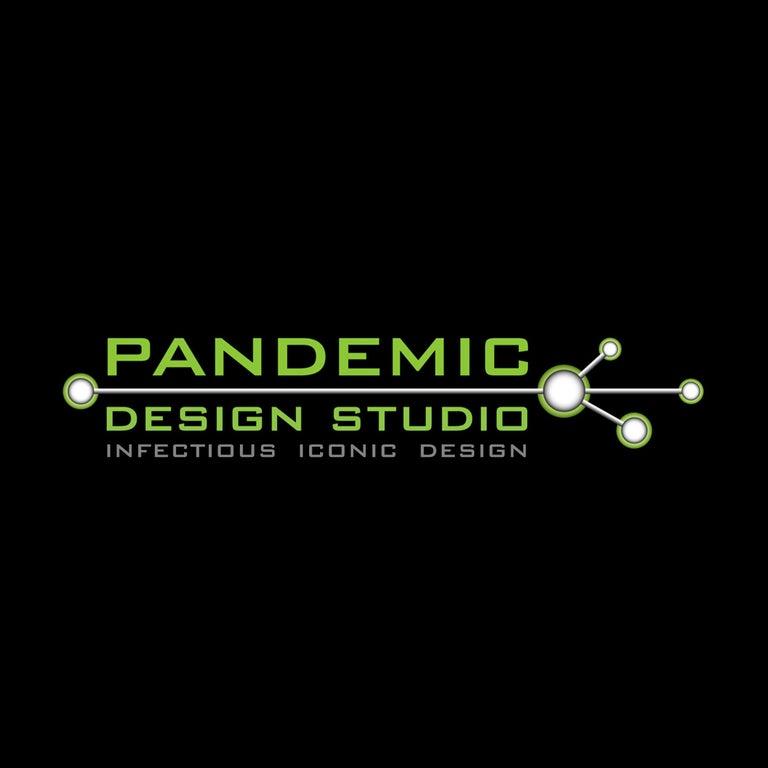 Industrial Modern Floor Lamp Antique Crouse Hinds, Steel Pandemic Design Studio For Sale 1