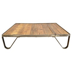 Industrial Pallet Coffee Table, 1950s