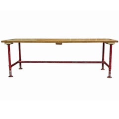 Industrial Pipe Base Table
