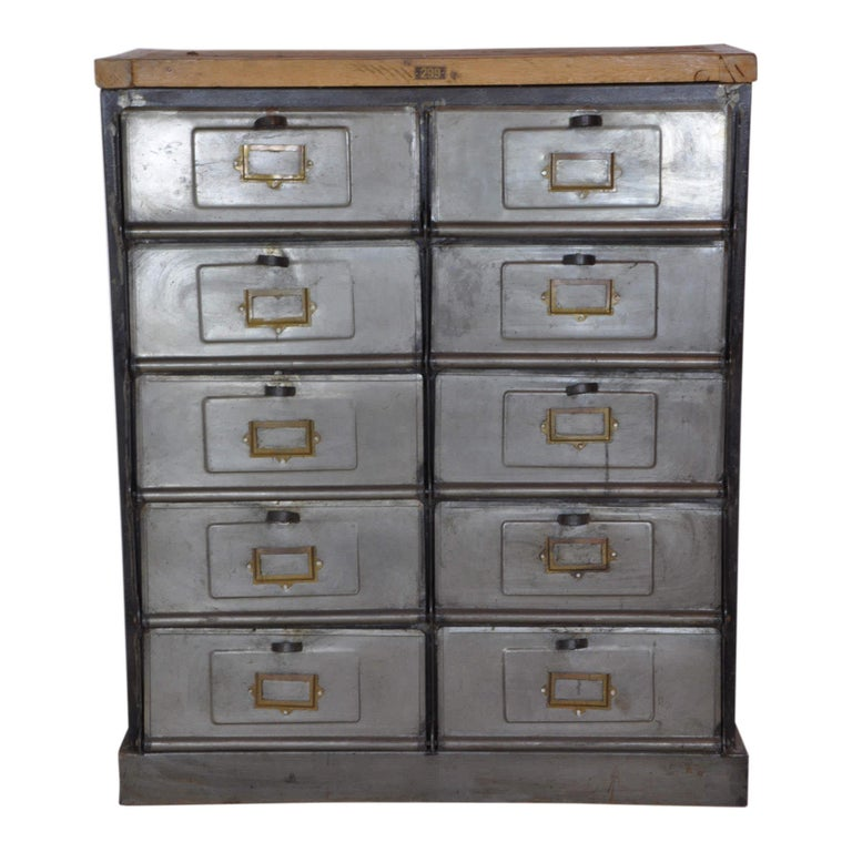 Tremendous Industrial Postmans Console Cabinet With Doors Circa 1920 Home Interior And Landscaping Mentranervesignezvosmurscom