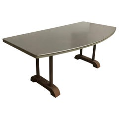 Industrial Reception Table with Round Curve in Top / Only Top Six Hundred Euro