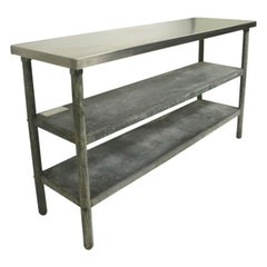 Industrial Restaurant Kitchen Work Table