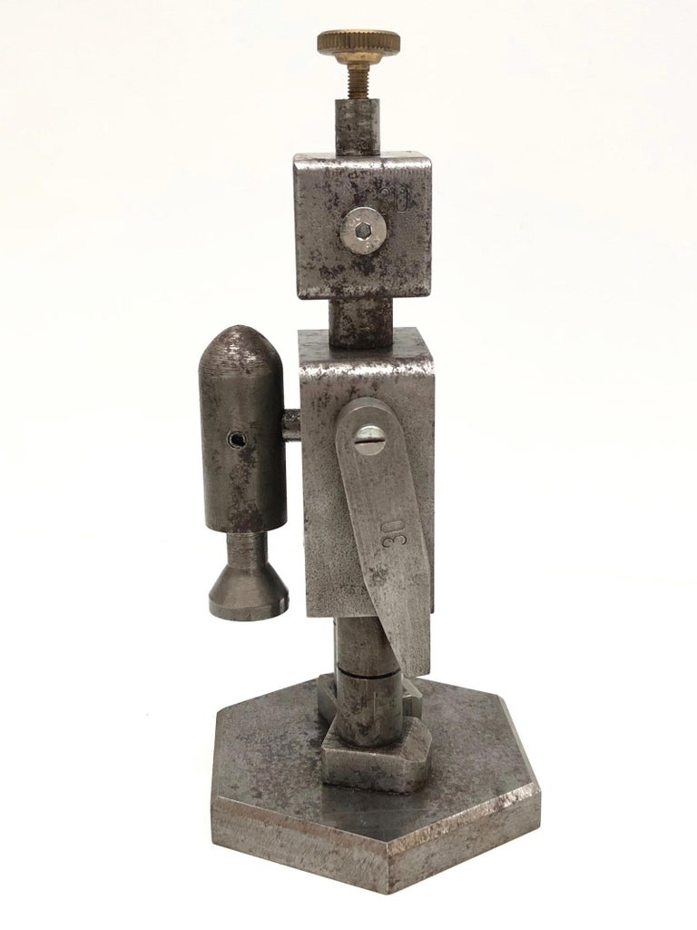 Hand-Crafted Industrial Robot Scale Design Model Desk Sculpture, German, 1970s For Sale