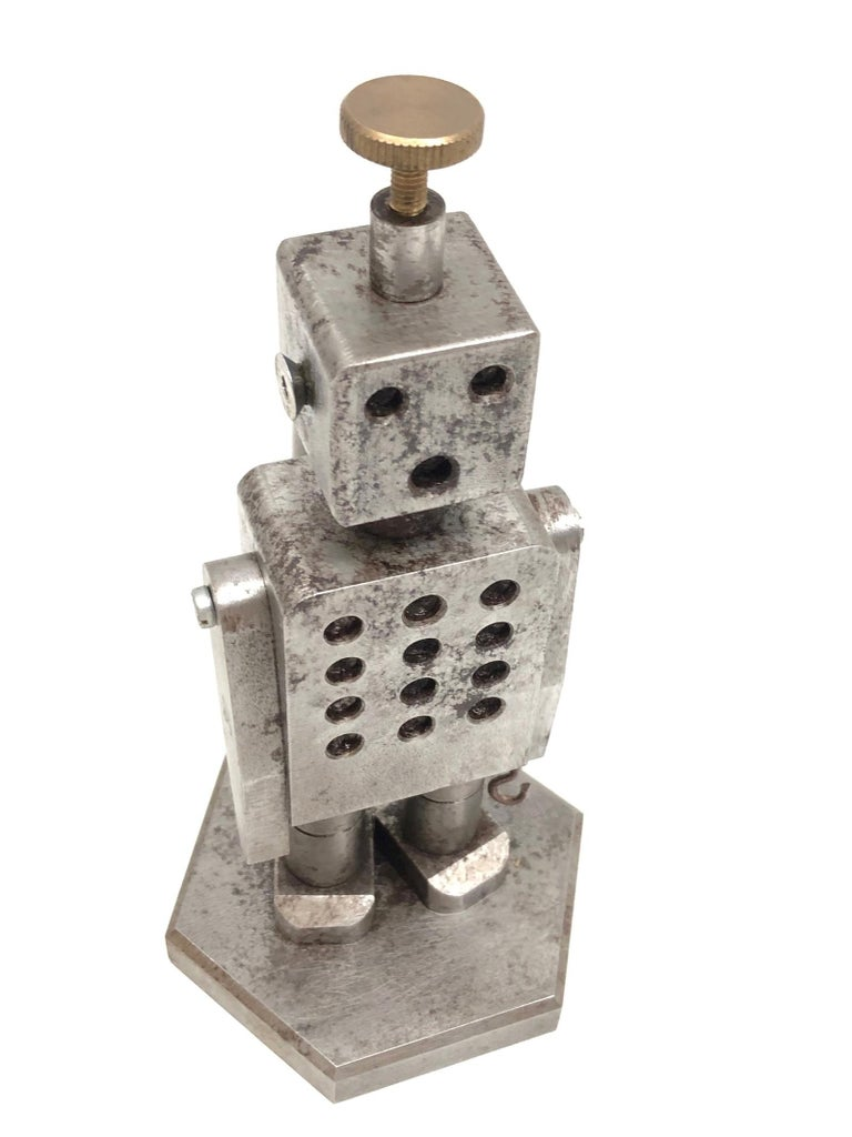Late 20th Century Industrial Robot Scale Design Model Desk Sculpture, German, 1970s For Sale