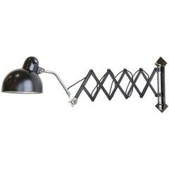 Industrial Scissor Lamp, circa 1930s