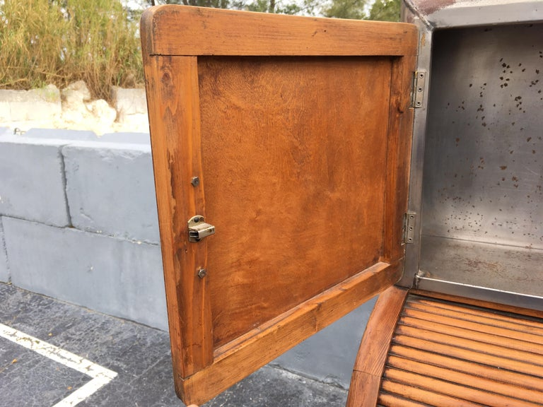 Industrial Secretary Cabinet Art Deco Kitchen For Sale 5