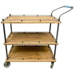 Industrial Serving Cart, 1960s