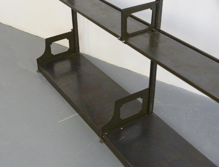 Industrial Shelving by Strafor, circa 1920s For Sale 3